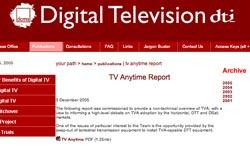 DTI TVA report