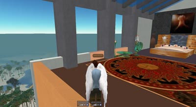 Gary's Second Life Bedroom