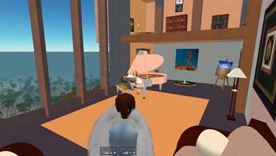 Gary's Second Life Media Lounge