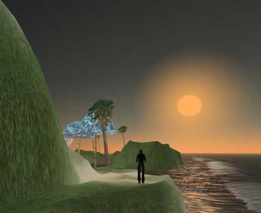 AFTRS Island Second Life