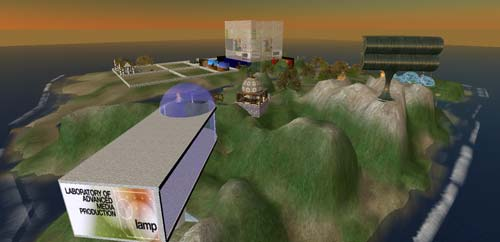 AFTRS Island Second Life