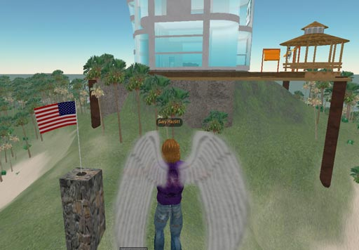 US flag in SL