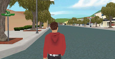 Virtual Laguna Beach Main Street
