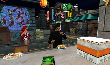 Midian Sushi Eating