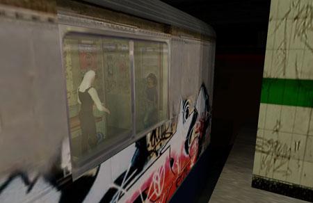 Midian Cornered on a Train